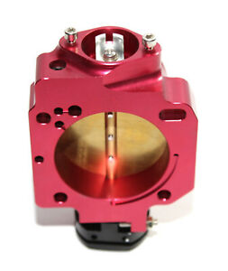 70mm Big Throttle Body Performance Upgrade Anodized B/D/F/H Series RED/BLACK
