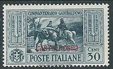 1932 CASTELROSSO GARIBALDI 30 CENT MH * - K122