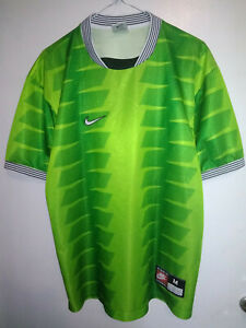 1997-98 Nike Template SIZE M - adult VINTAGE FOOTBALL GREEN