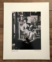 "Vintage Bela Kalman Signed Photograph Nude ""MCP And Model"" Budapest 1954"