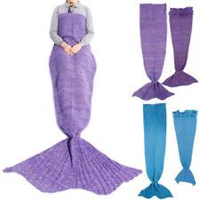 Couvertures en laine mélangée pour le lit