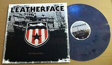 LEATHERFACE The Stormy Petrel 1st PRESS PURPLE GRAY 1000 MADE LP Vinyl Gatefold