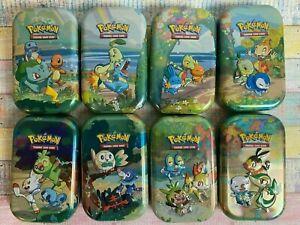 Pokemon Celebrations Tin 25 Jahre Mini Tins Display Auswahl + Farbenschock BONUS
