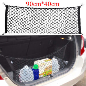 Car Universal Envelope Style Trunk Cargo Fixed Net Storage Organizer Accessorie