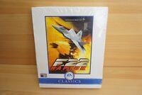 Vintage F-22 F22 Raptor Simulator PC Computer game 2000 CD Big Box Win 95