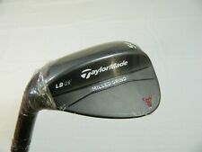 New LH Taylormade MG Milled Grind Black 54* Sand Wedge SW 54.09 LB Low Bounce
