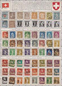 D1277: SUPER Switzerland Stamp Collection; CV