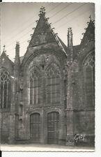 France - Brittany, Ploermel, Portail Nord de l'Eglise - Real Photo Postcard