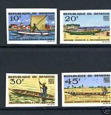 Senegal MiNr. 310-13 postfrisch/ MNH Schiffe ungezähnt (Schif36