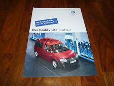 VW Caddy Life Eco Fuel PROSPEKT 04/2006