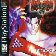 Tekken 3 PS1 Great Condition Fast Shipping