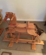 Handmade Wooden Rocking Horse used