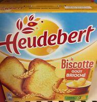 Lot revendeur destockage de 7 Paquets Biscottes Heudebert Goût Brioche