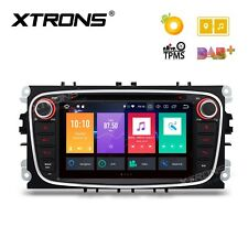 "AUTORADIO 7"" Android 8.0 Octa Core 4gb Ford Focus c-max s-max Galaxy Nero Navi"