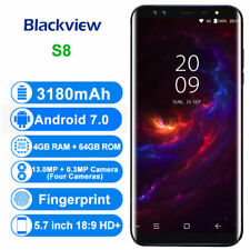 Blackview S8 4G LTE Smartphone Android 7.0 OctaCore 4G+64G 4 Cams Telefono Movil