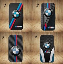 Luxury BMW M3 M4 M5 M6 X5M 3D Flip Wallet phone Case Cover For IPhone & Samsung