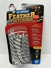 """Feather Fletchings All Natural Gateway Feathers 4"""" 50 pack Parabolic Brd Pattern"""