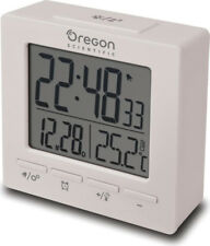 Sveglia Digitale Oregon Scientific Doppio allarme Snooze Calendario Bianco RM511