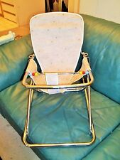 Vintage Baby Walker Antique Retro Jumper Walker Bouncer Seat -don't use for baby