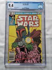 STAR WARS #68 CGC 9.4 (1983) BOBA FETT NEWSSTAND COVER [MARVEL Comics]