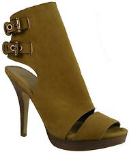 New $188 Coach Analeigh Suede Women Shoes Size US 7.5 Camel