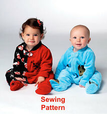 Kwik Sew K3960 Pattern Infants Sleeper XS-XL BN