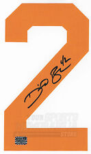 David Backes Boston Bruins Signed Autographed Home Jersey Number