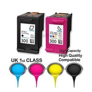 REMANUFATURED HP300 Black 300 Colour Cartridges For F4500 F4580 F4583 HP PRINTER
