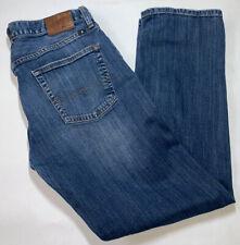 Lucky Brand 221 Original Straight Leg 34x32 Mens Denim Blue Jeans Pants Classic