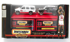 Matchbox Collectibles Chicago Bulls Michael Jordan Die Cast Chevy Tahoe Set NEW