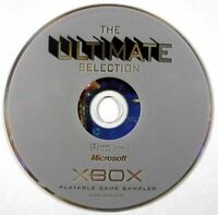The Ultimate Selection DEMO CD Playable Game Sampler MINT DISC Original Xbox