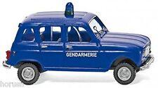 Wiking 022404 - Gendarmerie - Renault R4 (1:87)   NEU  Ovp.