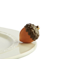 Nora Fleming Acorn Mini Fall Autumn Entertaining Ceramic Charm A174