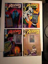 Robin ll #1 The Joker's Wild (1991)  DC comics Lot of 4 TOTAL BOOKS Good Cond.