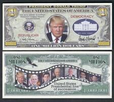 DONALD TRUMP ~ Administration Million Note ~  Fantasy Note