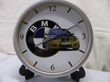 BMW M3 pendule murale horloge 20cms  KDO DKO M POWER E36 E46 DRIFT TUNING RACING