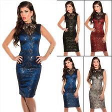 Damenkleider aus Polyester für Cocktail 36 Größe