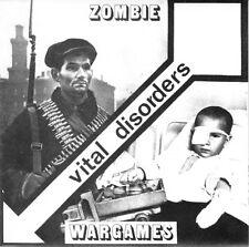 "VITAL DISORDERS 7"" SINGLE - ZOMBIE / WARGAMES - NEW  punk / new wave / post punk"