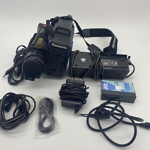 Panasonic Vhs C Omnimovie Ccd Afx6 Battery, Charger, Adapter