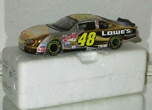 2002 RCCA PROTOYPE JIMMIE JOHNSON #48 LOWES ROOKIE 24K GOLD 1/32 car#0000 PROTO
