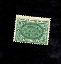 CANADA Scott #E-1, 1898 10c Spec Delivery, Green (SEE PHOTO)