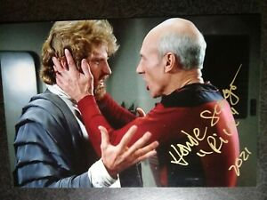 HOWIE SEAGO As RIVA Authentic Hand Signed Autograph 4X6 Photo - STAR TREK