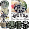 Q-girl Series Nail Art Stamp Stamping Template Image Steel Plate Manicure DIY