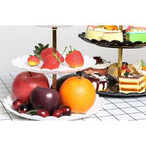Cake Stand Simple Style Fruit Dessert Rack Decor Serving Tray BT