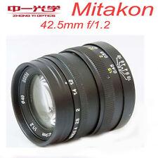 Zhongyi Mitakon 42.5mm f/1.2 for Micro Four Thirds Camera M4/3 MFT OM-D   BMPCC