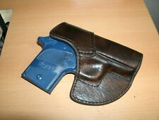 Leather Purse/Pocket HOLSTER for Sig P938/P238 Black Made in the USA