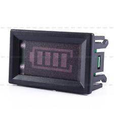 New 12V Lead-acid Battery Indicator Capacity Voltage Display LED Tester Meter