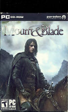 MOUNT & BLADE PC ROLE PLAYING for PC SEALED NEW