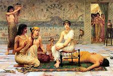 AMA del lavoro perduto foto By Edwin longsden lunga tela o FINE ART Poster Egitto