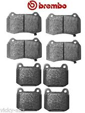 NISSAN 350Z ROADSTER Z33 BREMBO BRAKE PADS FRONT AND REAR BRAND NEW